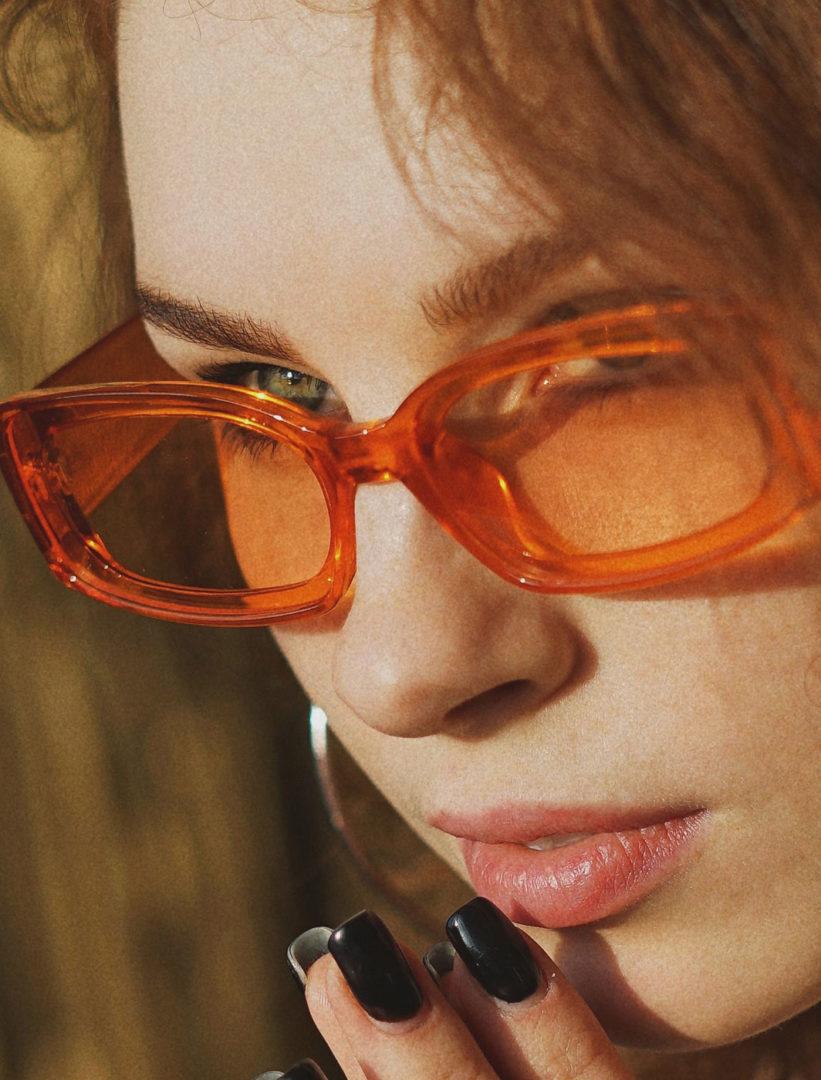 6 - Sunglasses in orange
