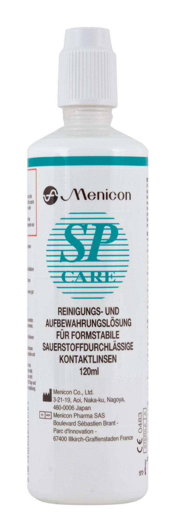 SP CARE 120ml 600x1816 - Menicon SP Care