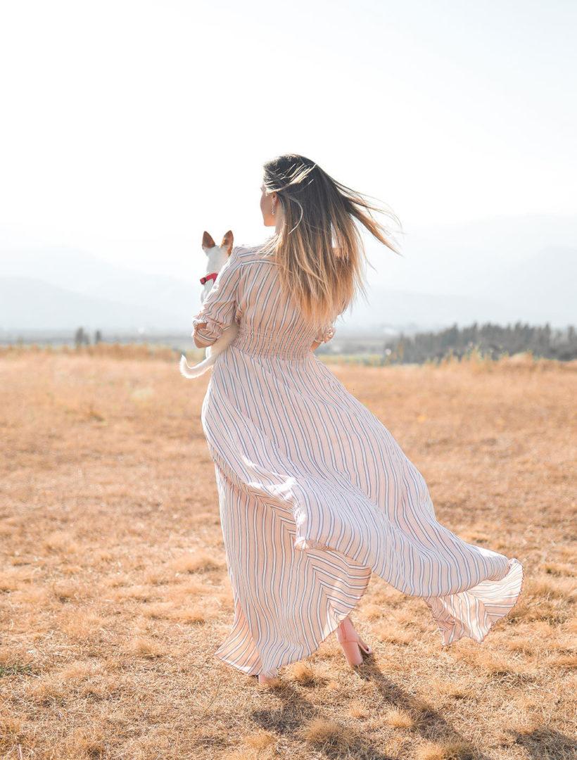 tamara bellis 6w4IBSXpJcs unsplash e1576490193934 - Stripe print maxi dress